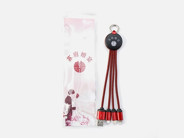 20cm充电线-礼品袋装
