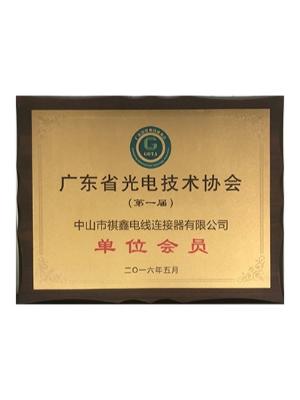祺鑫防水插-广东省光电技术协会单位会员